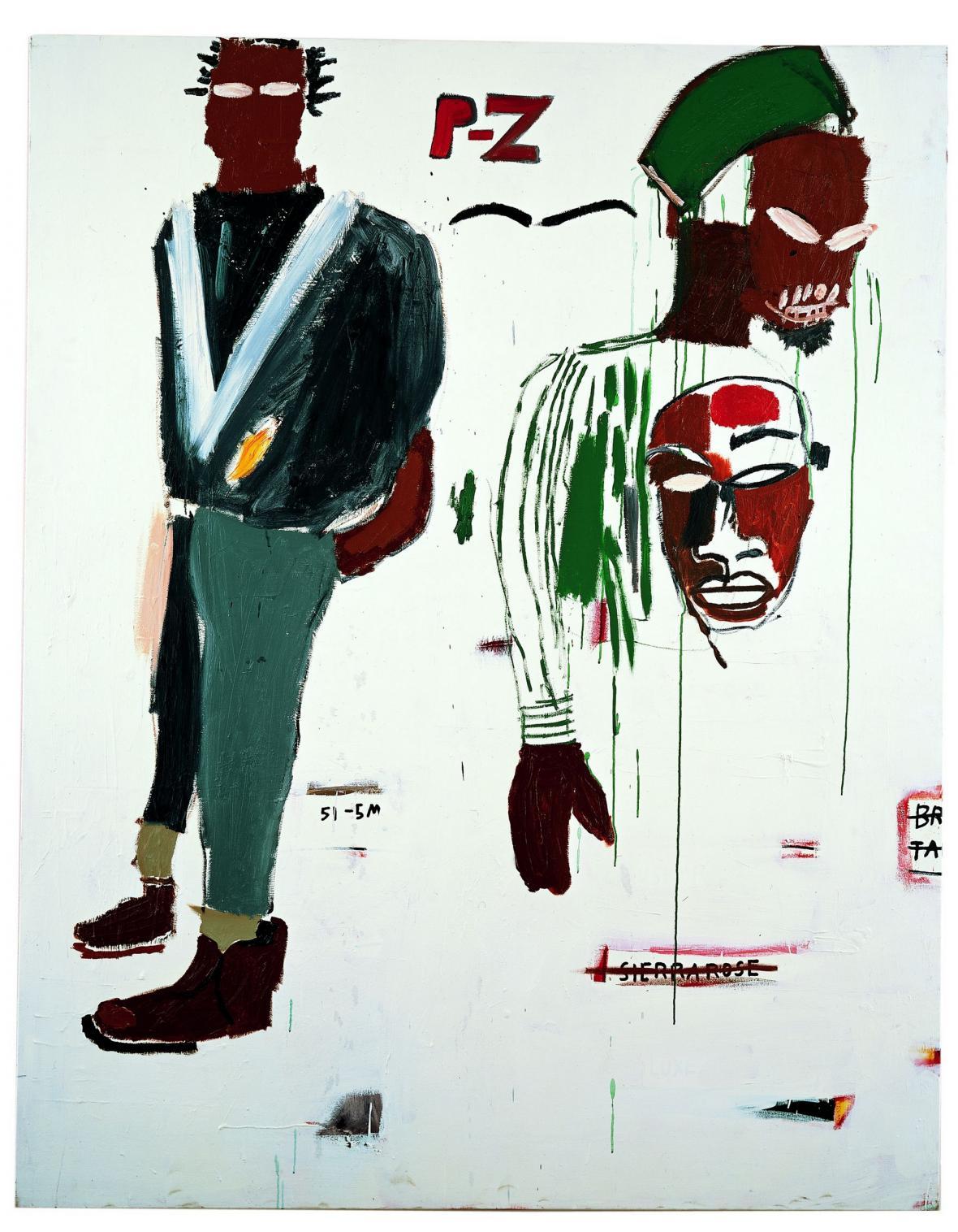 Jean Michel Basquiat / P-Z, 1984