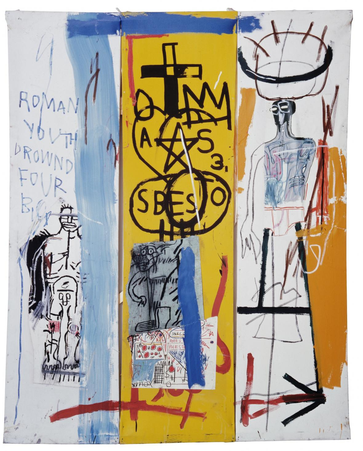 Jean Michel Basquiat / Four Big, 1982