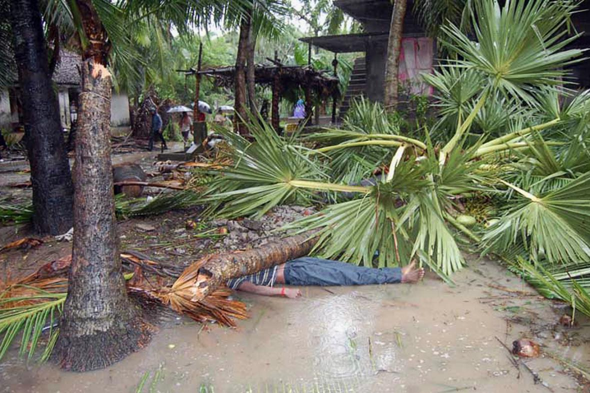 Oběť cyklonu Helen