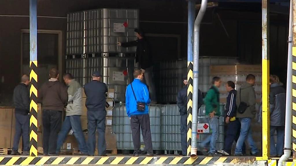 Sklad firmy FROS ZPS v Opavě