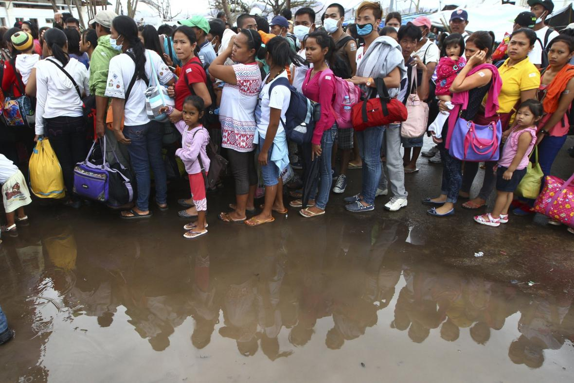 Filipíny po tajfunu