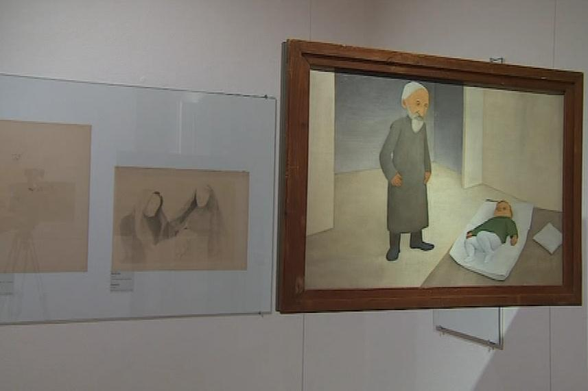 Malířka první republiky zkoumala lidi z periférií