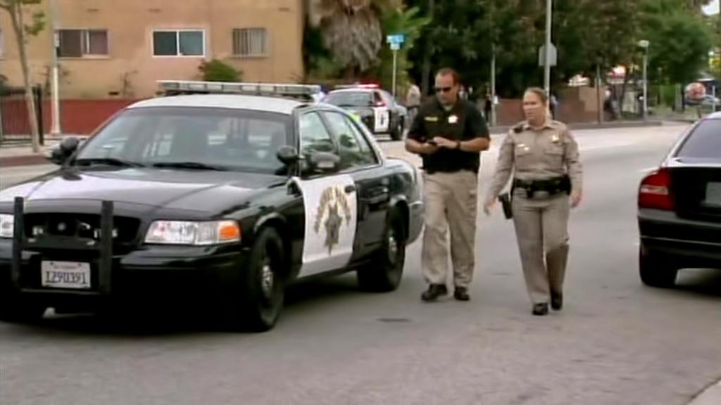 Policejní zásah po střelbě v Santa Monice