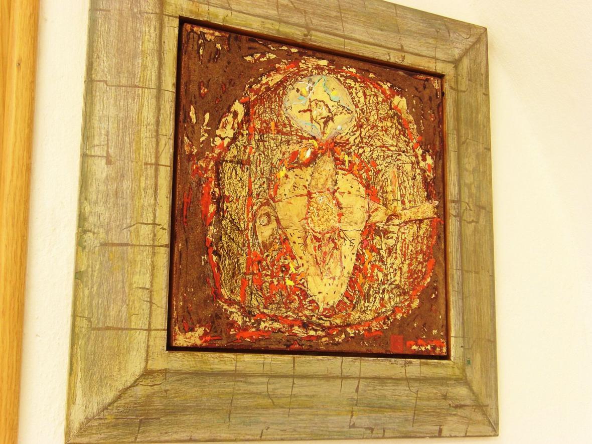 Z výstavy Boženy Rossí v Boskovicích