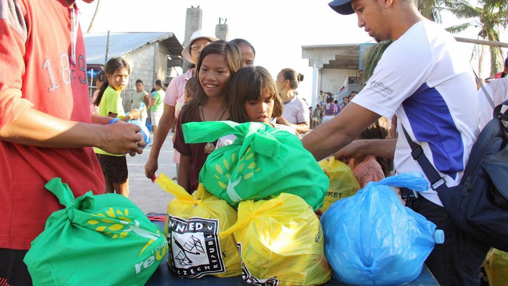 Distribuce potravinové pomoci