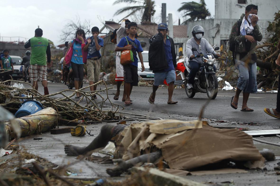 Situace na Filipínách je kritická