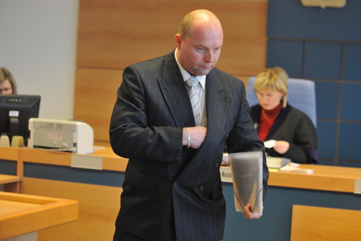 Obžalovaný policista Andrej Holub
