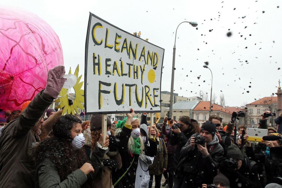 Polští ekologičtí aktivisté
