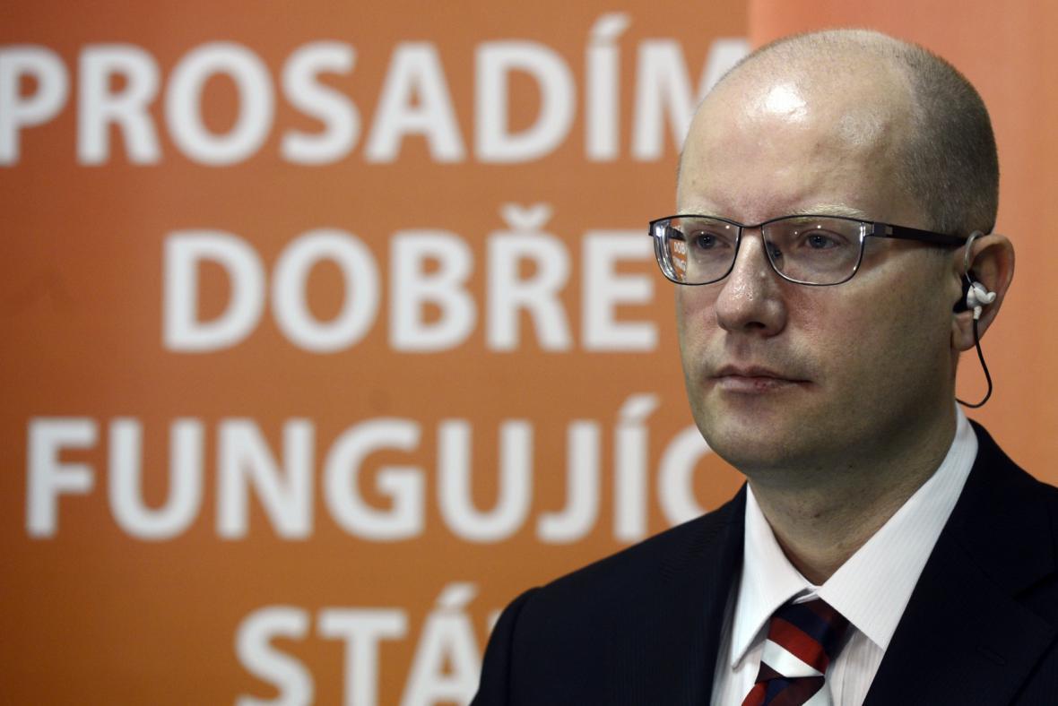 Předseda ČSSD Bohuslav Sobotka