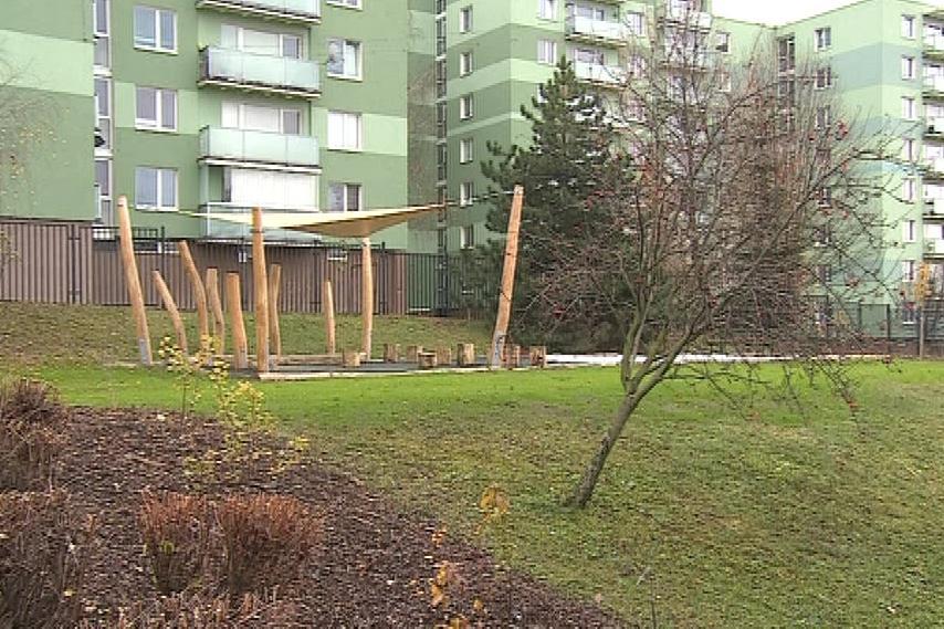 Součástí zahrady je i altánek