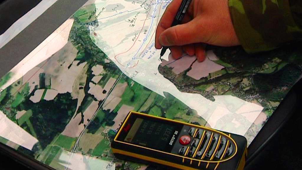 Mapování vojenských kartografů