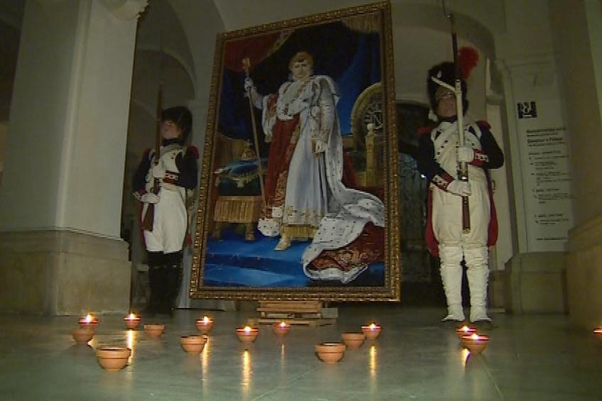 Ve středu večer obraz vystavili v Místodržitelském paláci