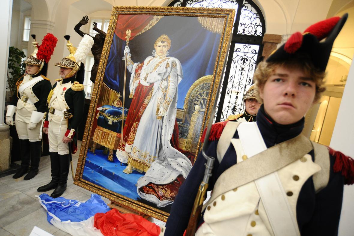 Odhalení napoleonského obrazu