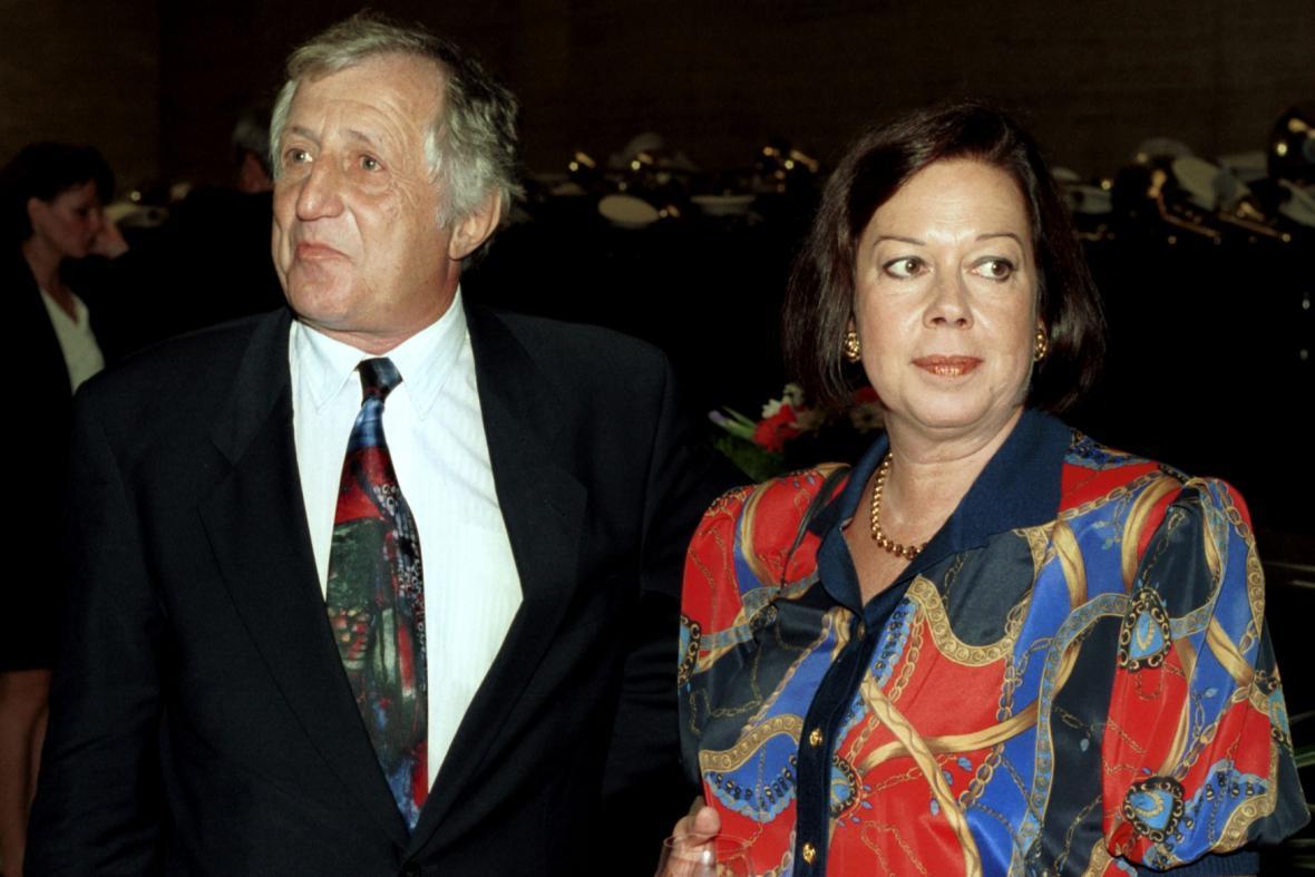Pavel Bobek a Yvonne Přenosilová