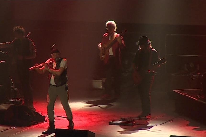 Ian Anderson je flétnista samouk