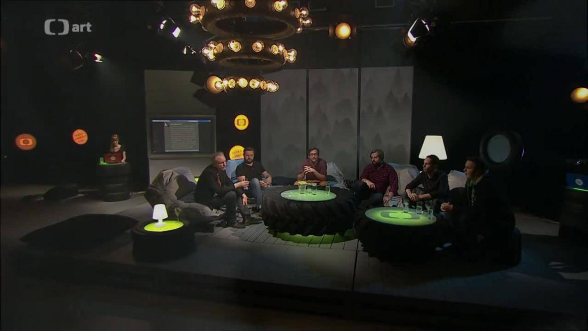 Tečka páteční noci vysílaná z Brna