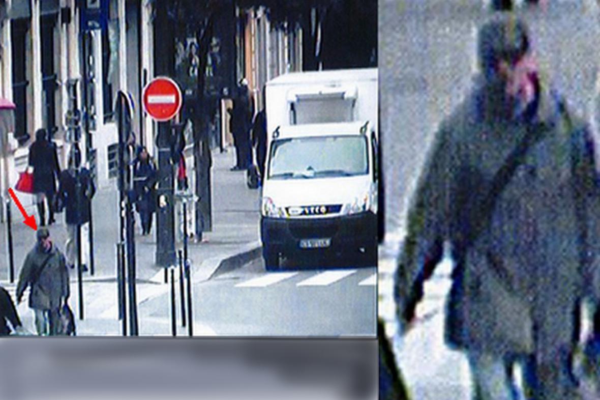 Snímek muže podezřelého ze střelby v sídle Libération