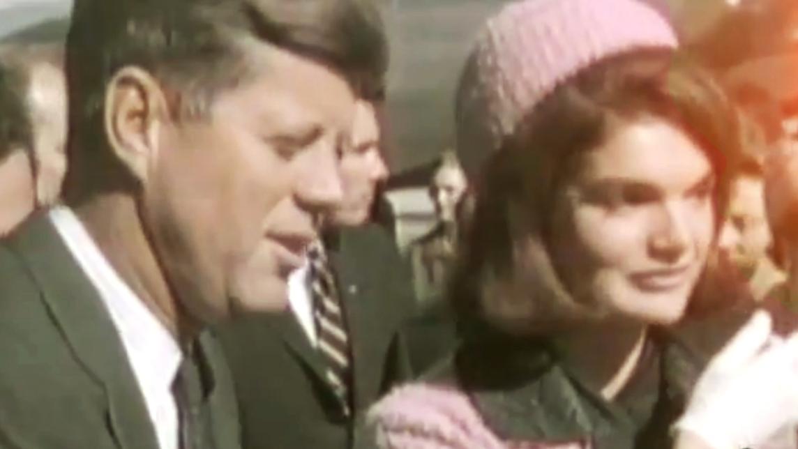 John F. Kennedy s manželkou Jacqueline