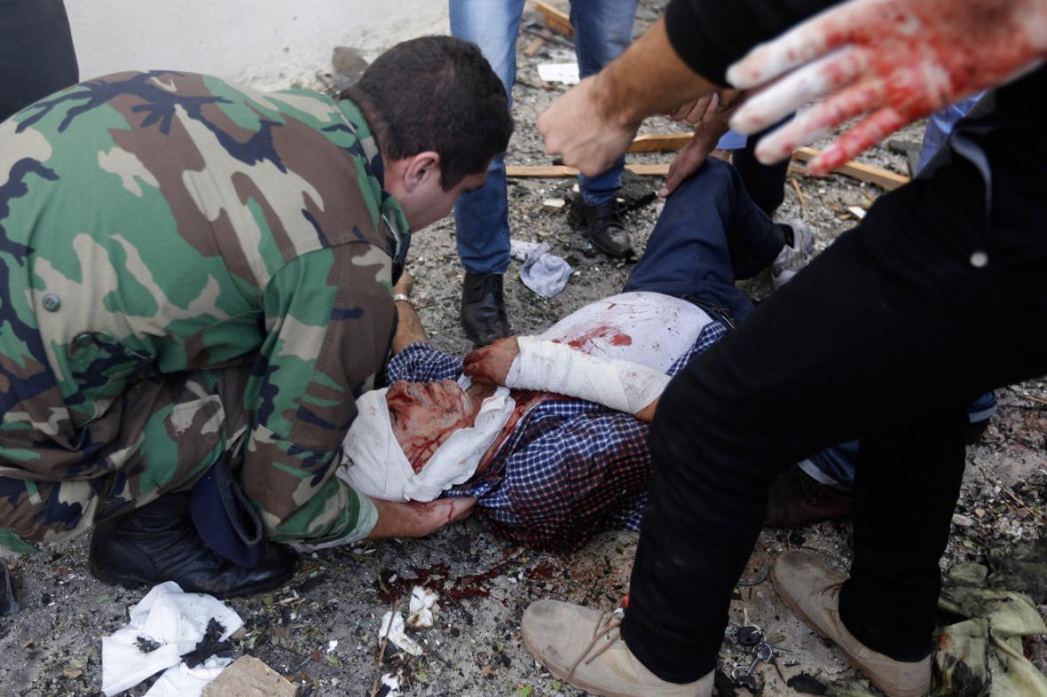 Oběť výbuchu u íránské ambasády v Bejrútu