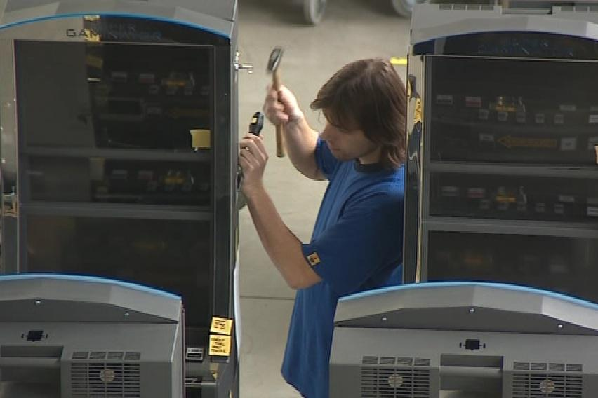 Výroba hracích automatů