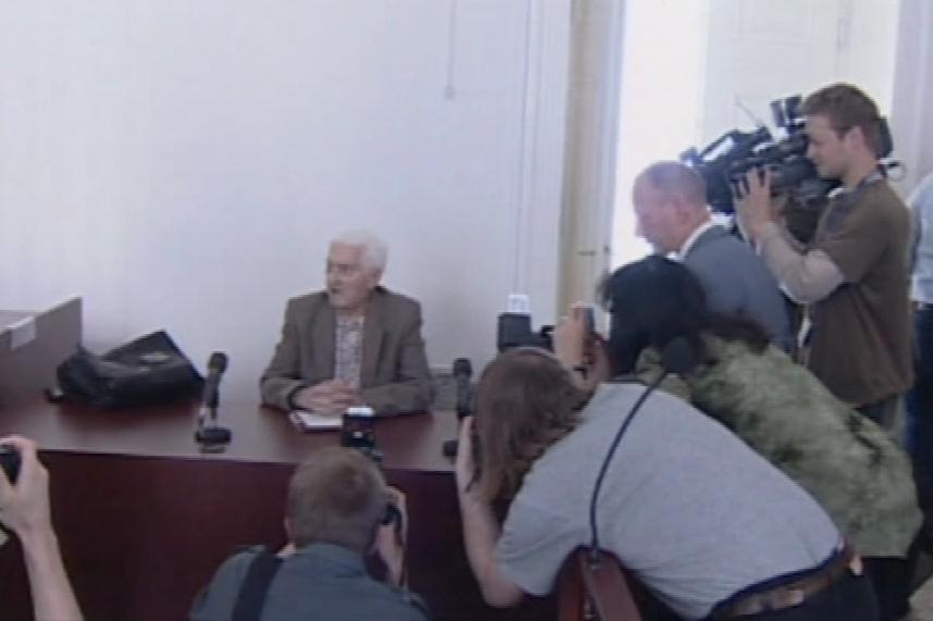 Milan Michel u pražského soudu