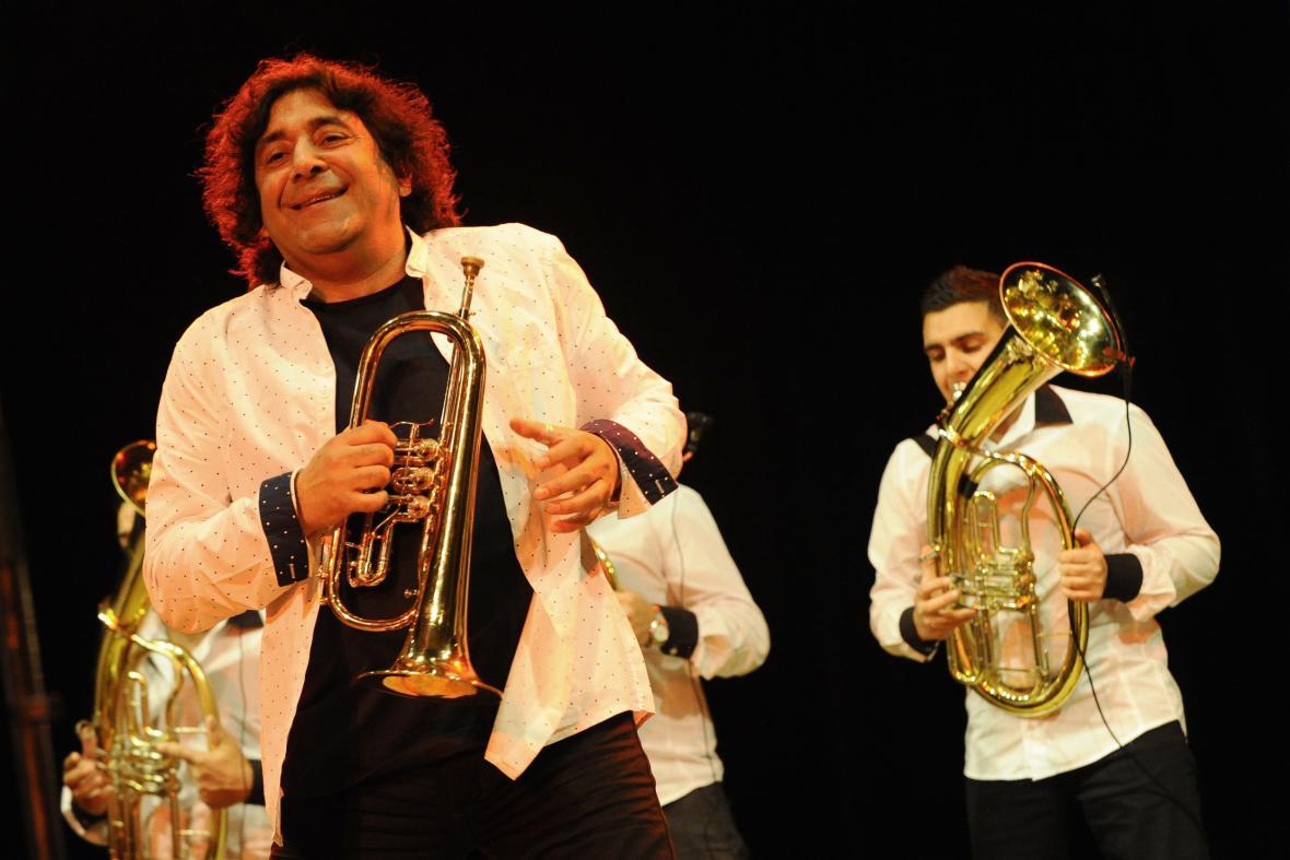 Boban Markovič je považován za nejlepšího srbského trumpetistu