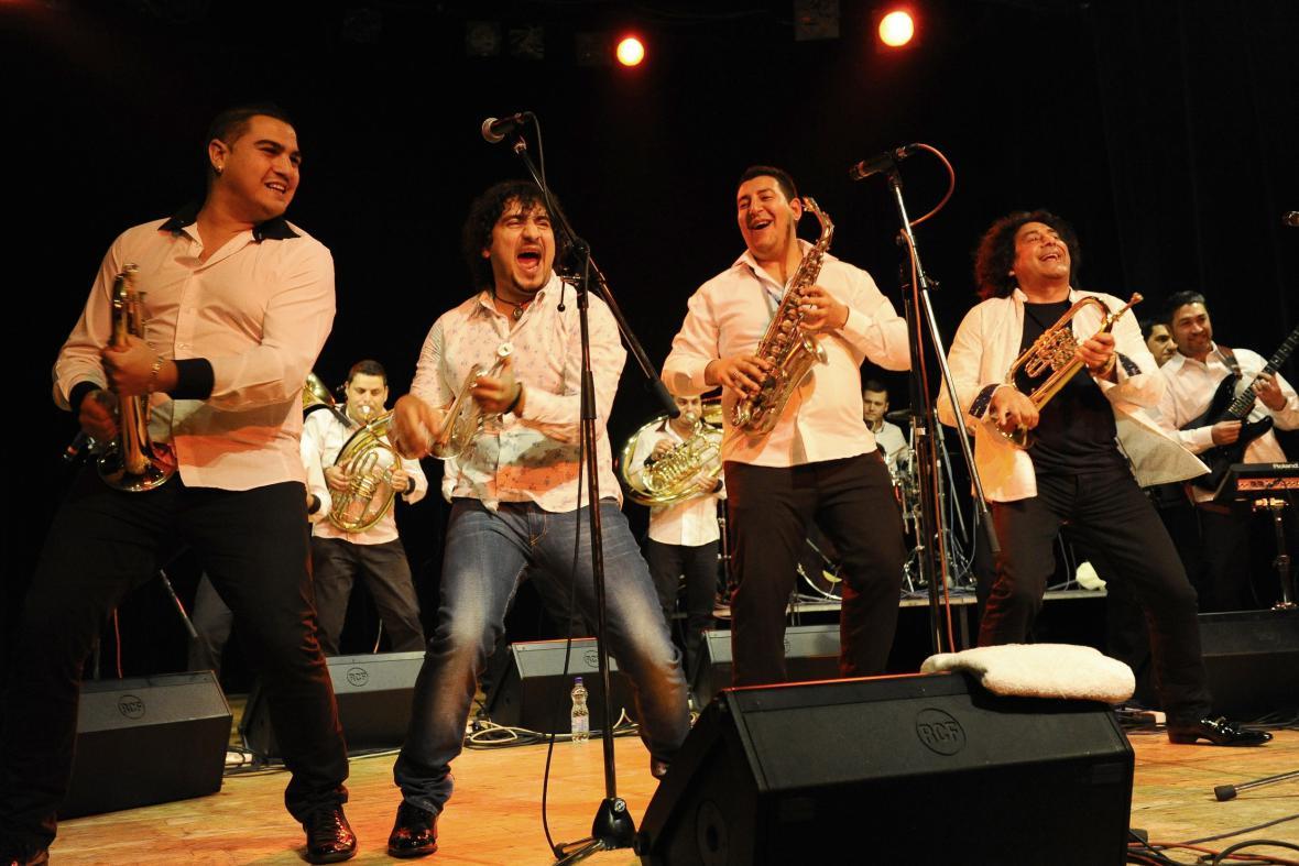 Koncert balkánské dechovky