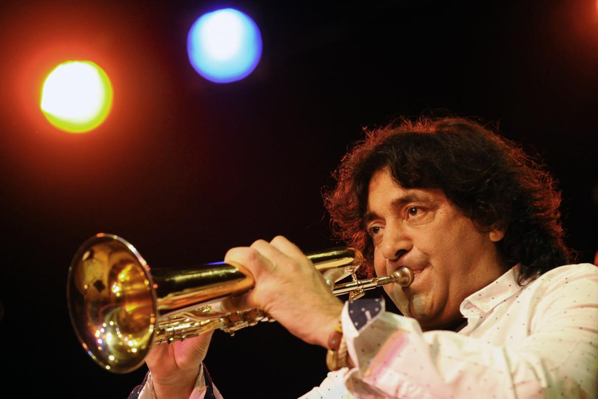 Trumpetista Boban Markovič