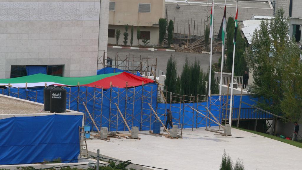 Exhumace ostatků Jásira Arafata