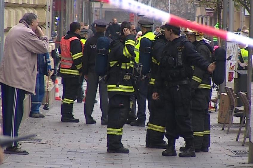 Zápach plynu cítili lidé v okolí ulice Česká už od čtvrtka