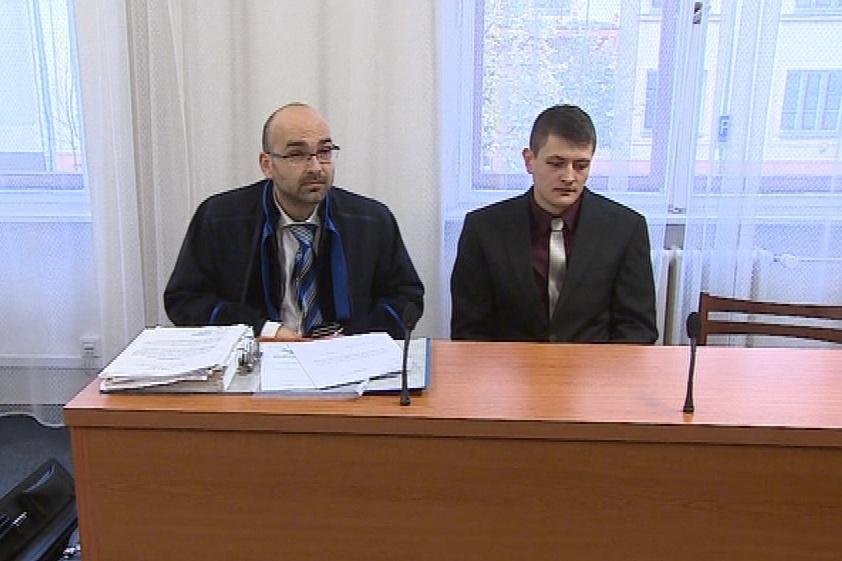 Jaroslav Schindler s právníkem