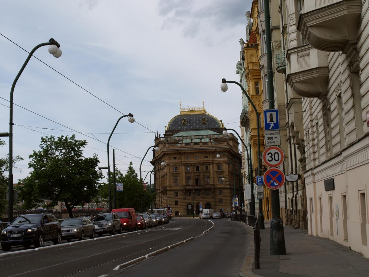 Národní divadlo / budova bývalého Prozatímního divadla