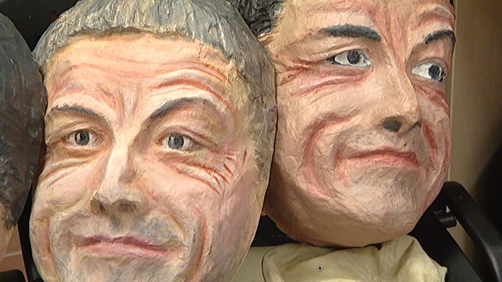 Masky politiků, které se objeví na sobotním průvodu
