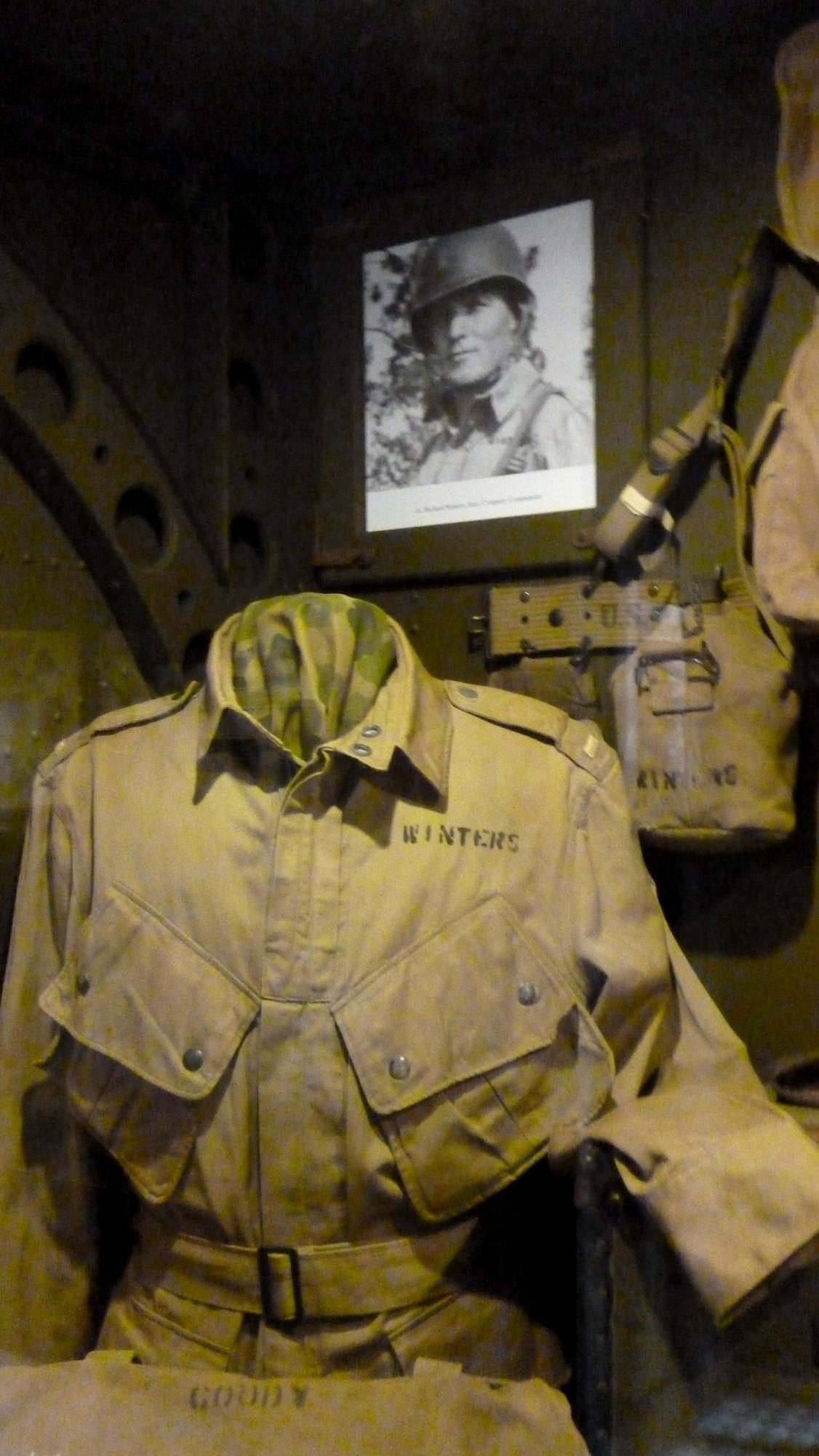 Uniforma poručíka Richarda Winterse