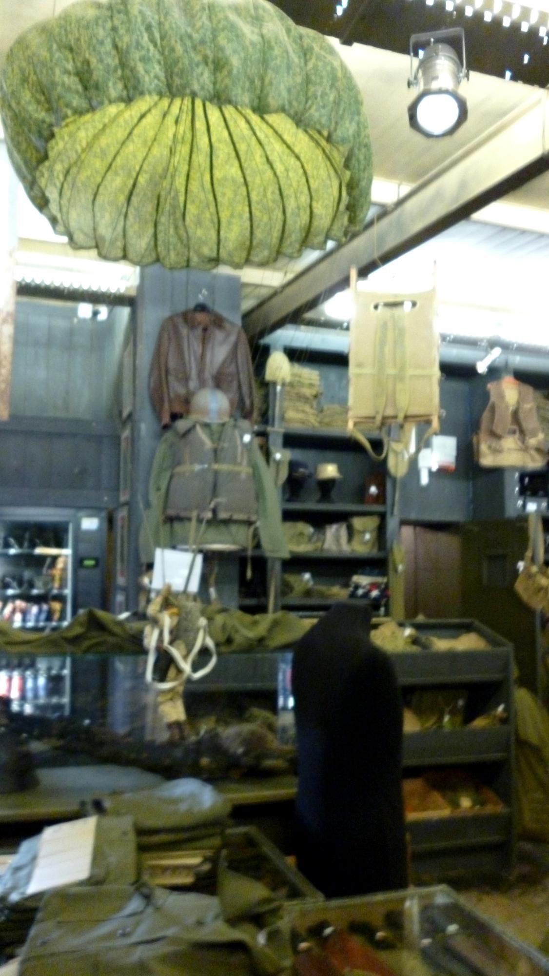 Obchod se suvenýry v museum Dead Man's Corner