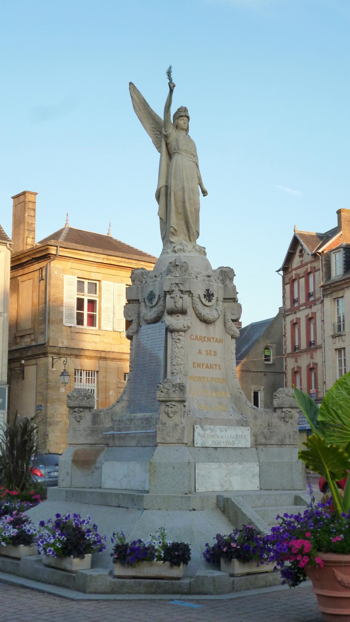 Carentan: Památník osvobození