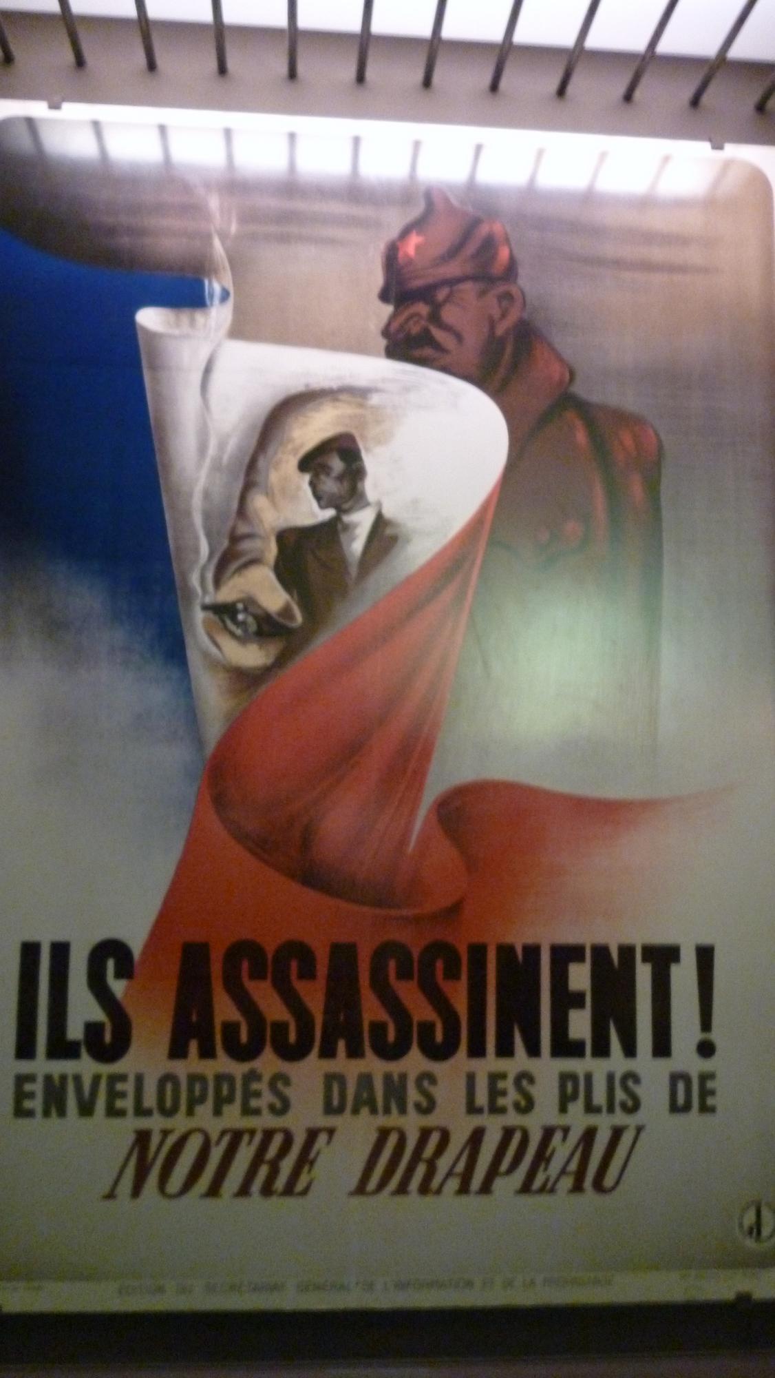 Německý propagandistický plakát
