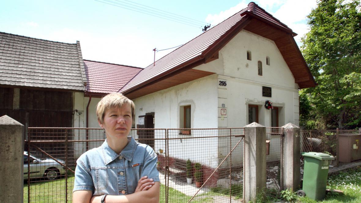 Rodný dům Jozefa Gabčíka a Katarína Tomčíková