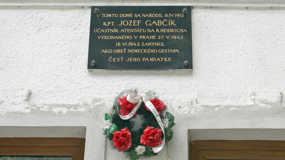 Rodný dům Jozefa Gabčíka