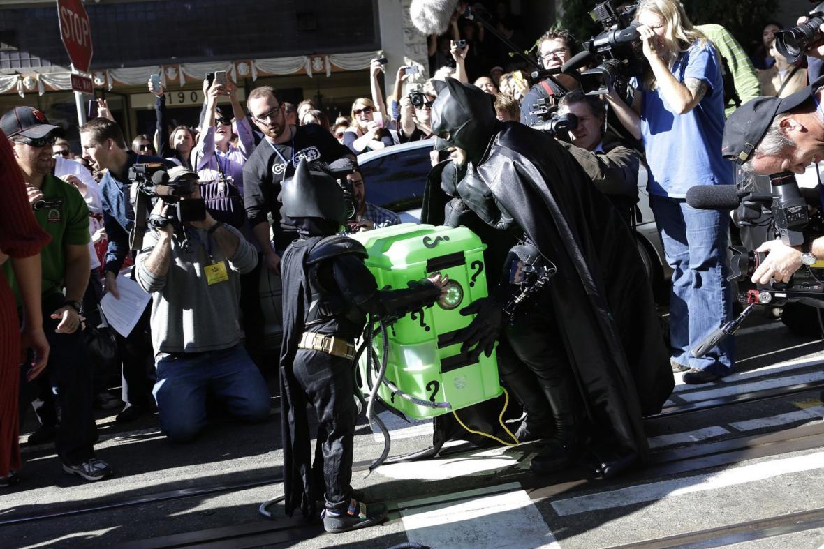 Batkid s Batmanem