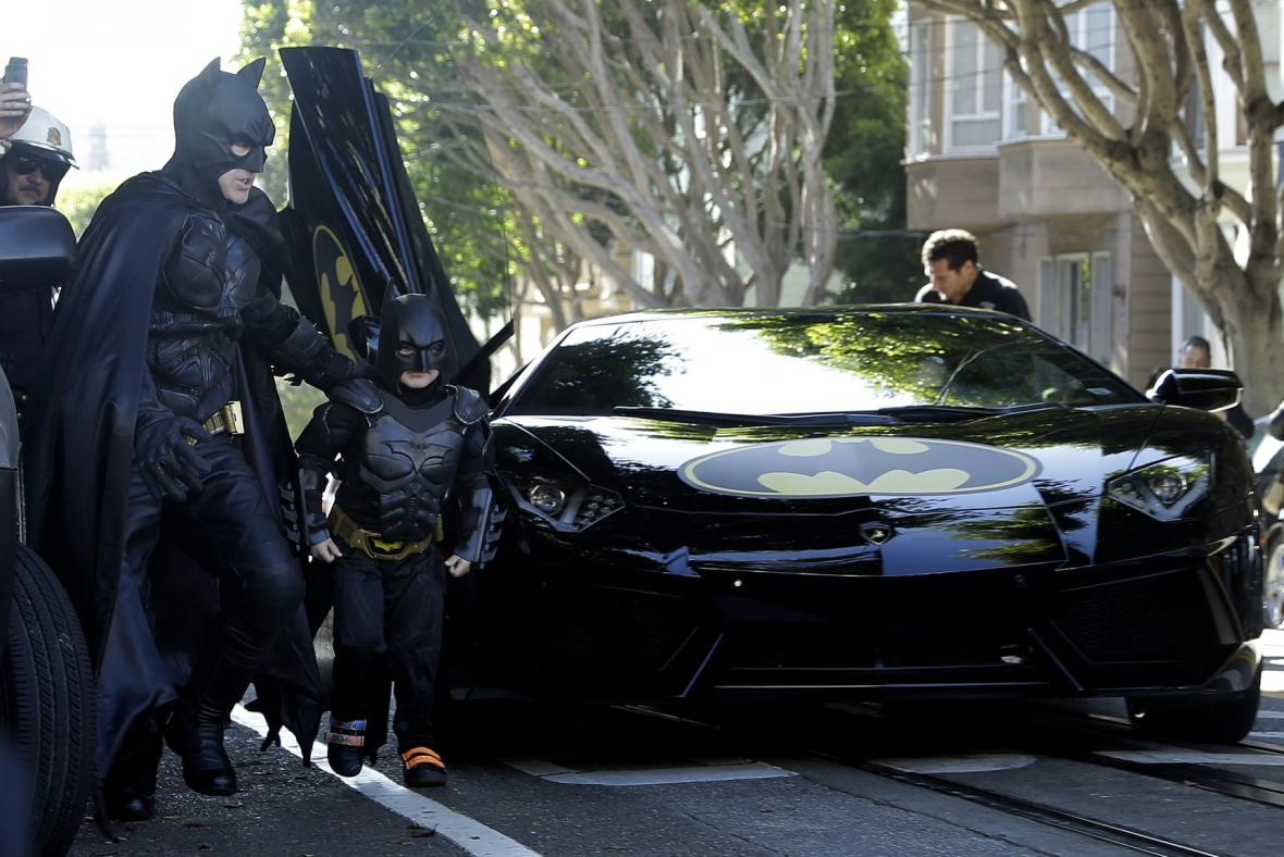 Batkid zachraňuje San Francisko