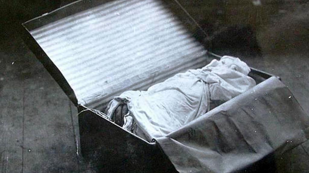Kufry s ostatky Otýlie Vranské