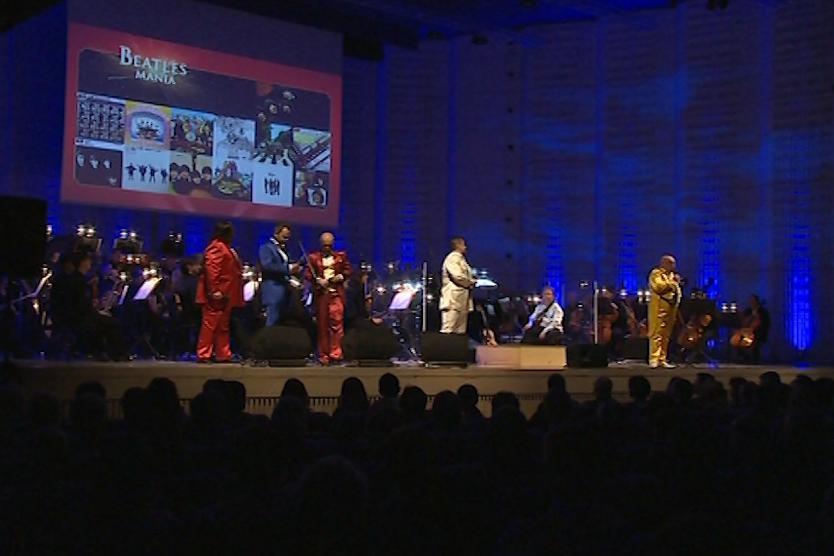 Koncert sledoval vyprodaný sál zlínského kongresového centra