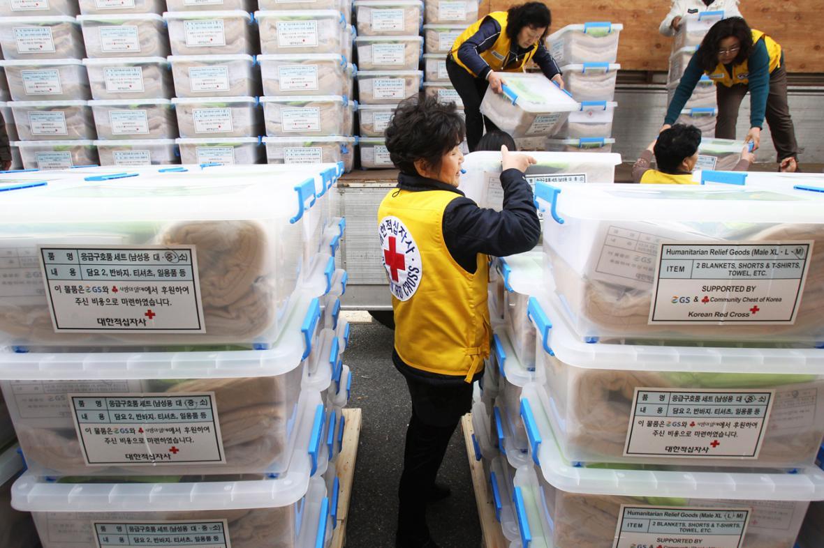 Humanitární pomoc pro Filipíny