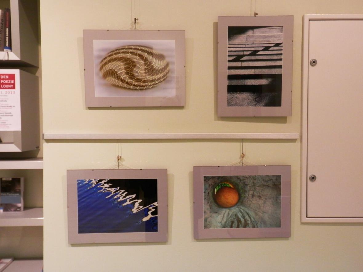 Z výstavy fotografií Pavla Straky v Lounech