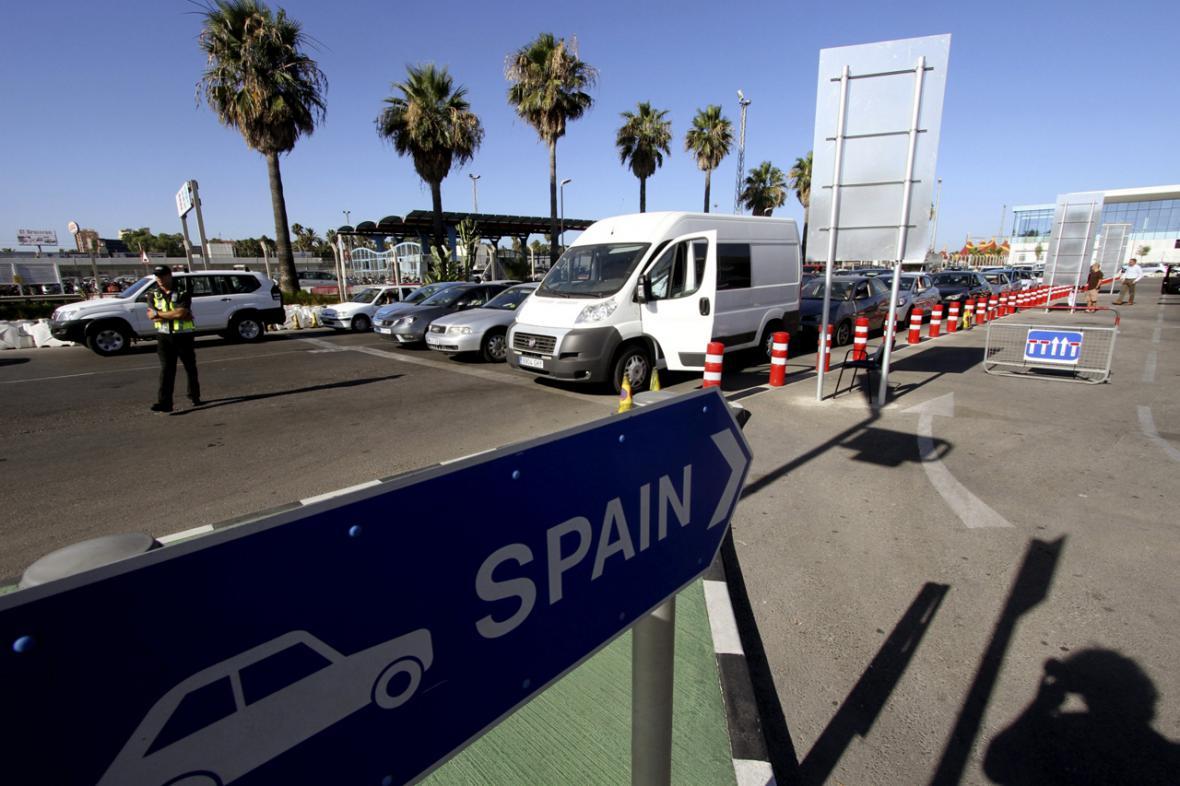 Formality na hranicích Gibraltaru