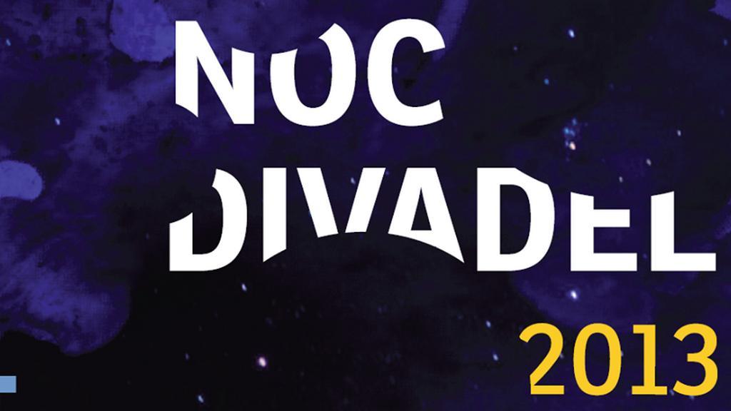 Plakát k Noci divadel 2013