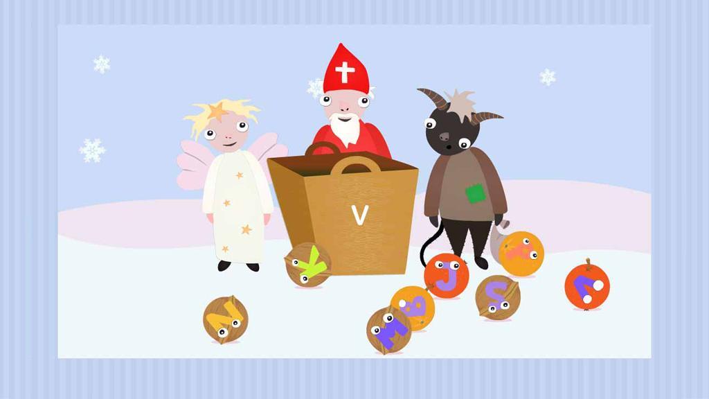 Z adventního kalendáře ČT: Vánoční písmenka