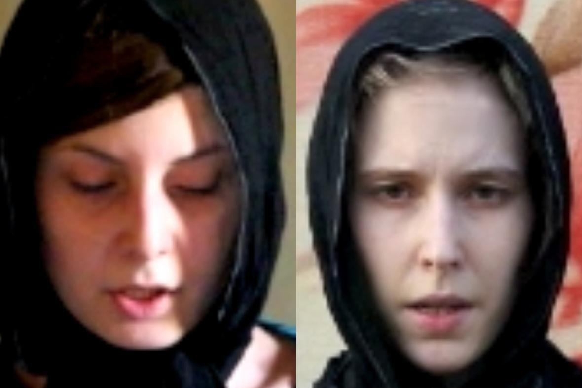 Hana Humpálová a Antonie Chrástecká