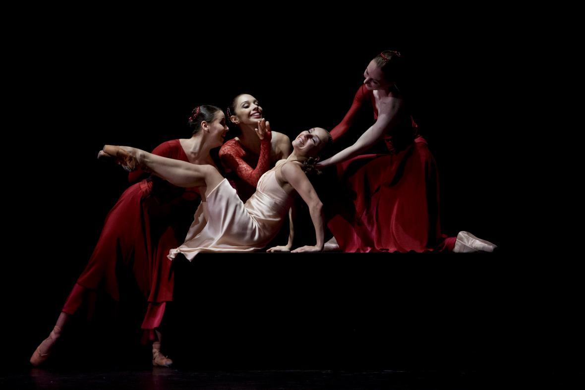 Romeo a Julie / Andrea Kramešová a soubor Baletu ND